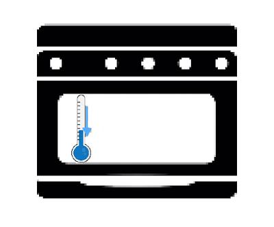 evitare che la temperatura del forno precipiti quando lo apriamo