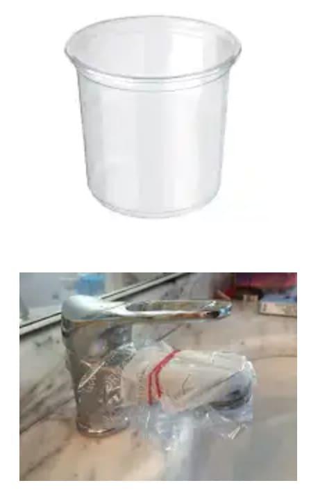 eliminare il calcare dai rubinetti