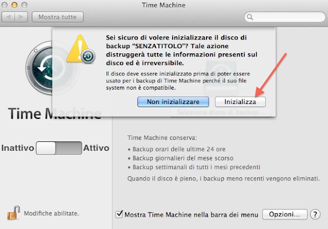 Come fare un backup del Mac