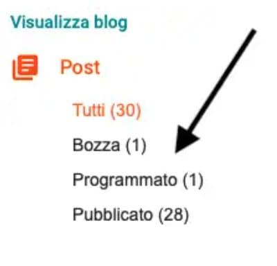 Come programmare un post su Blogger