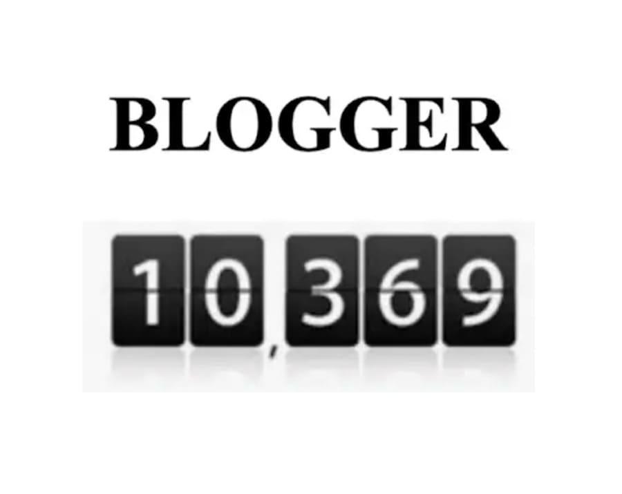 Come aggiungere un contatore di visite in Blogger