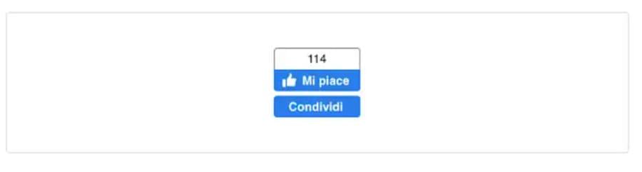 Come inserire il pulsante mi piace di Facebook in Blogger con gadget