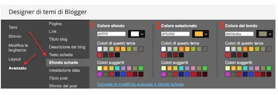 Come personalizzare lo sfondo delle schede