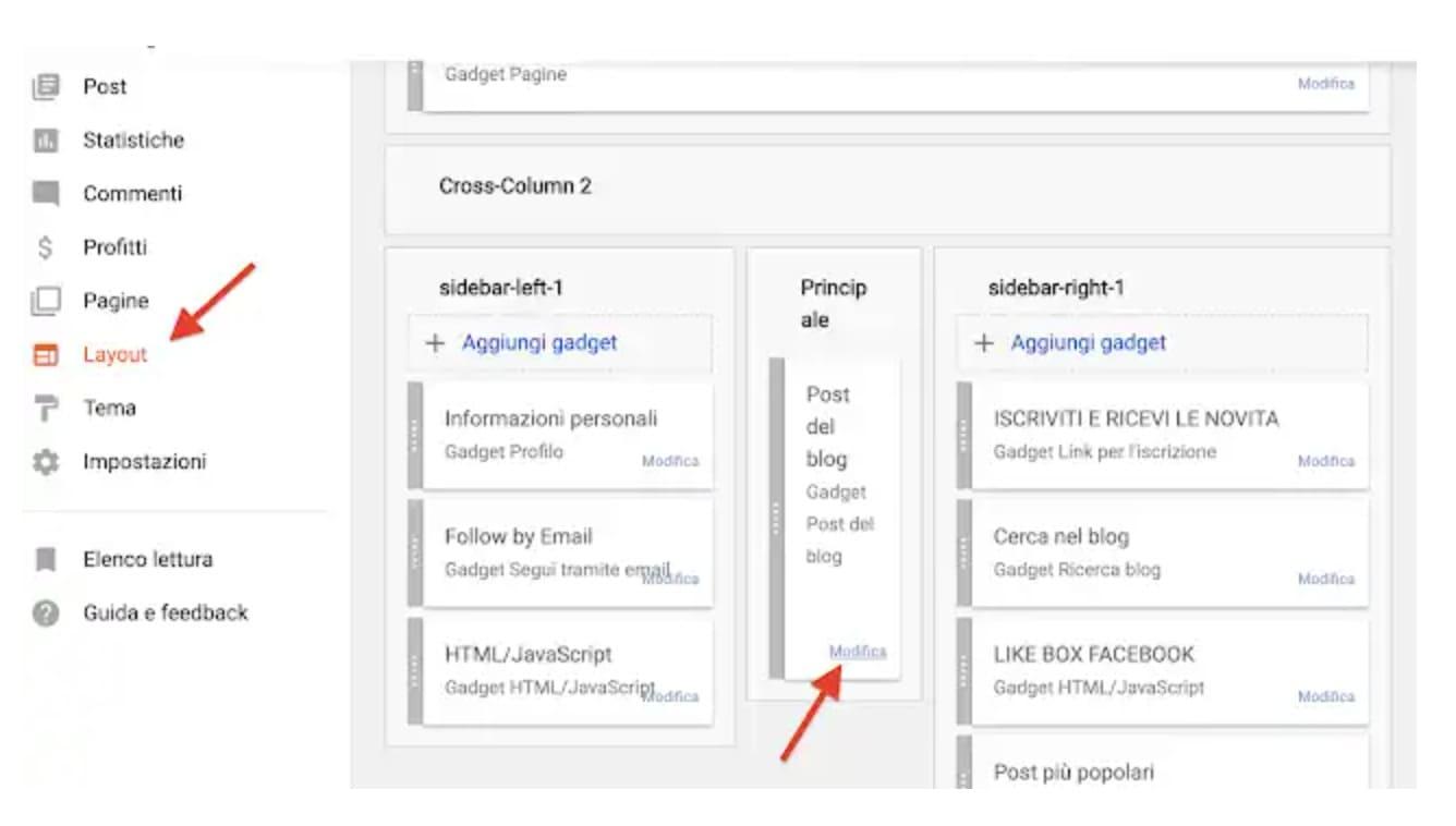Come aggiungere il pulsante Mi Piace di Facebook in Blogger