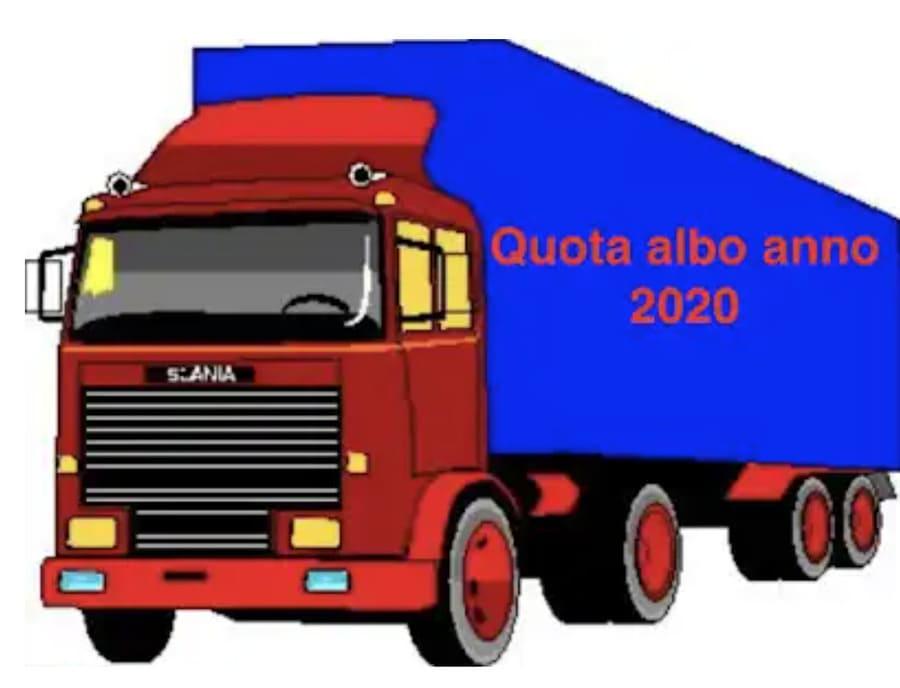 COME PAGARE LA QUOTA ALBO AUTOTRASPORTO 2020