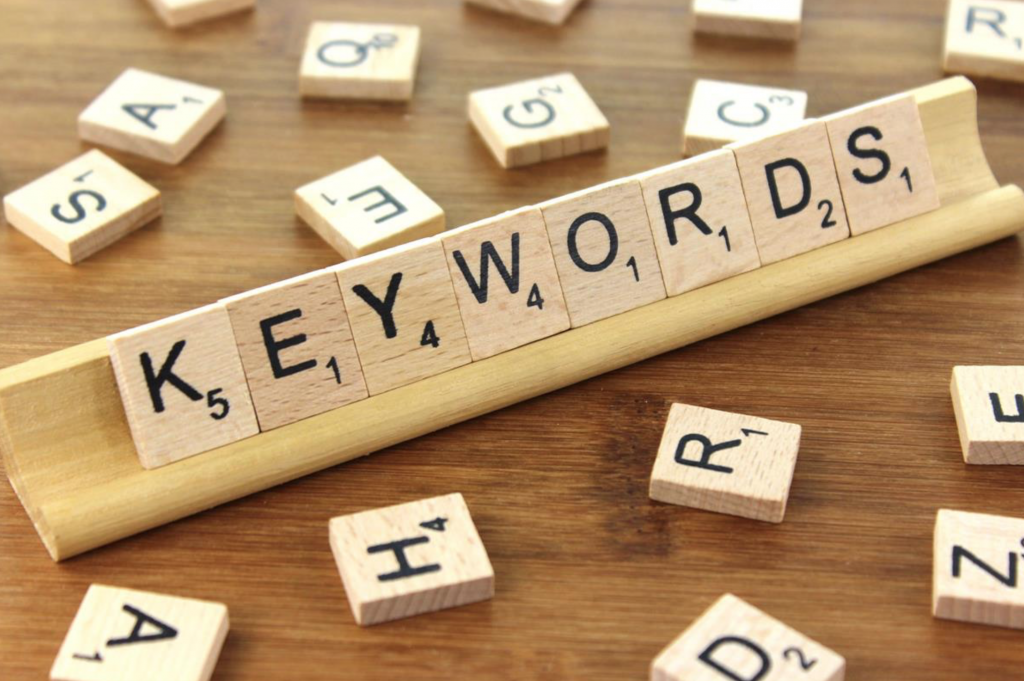 Dove mettere le keywords  post