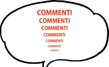 ingrandire la scritta dei commenti in Blogger