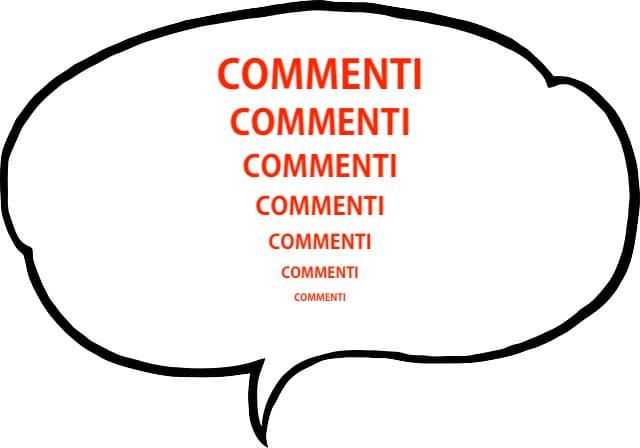 Come ingrandire la scritta commenti in Blogger