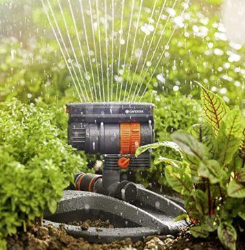 come innaffiare il giardino