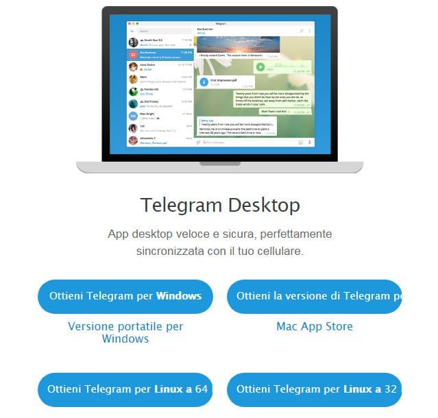Come scaricare Telegram su PC