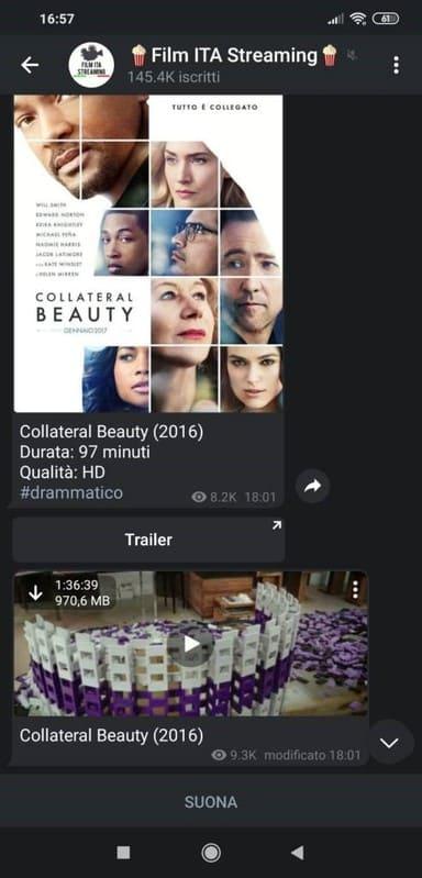 scaricare film e serie TV su Telegram