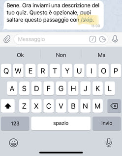 Come creare un quiz su Telegram