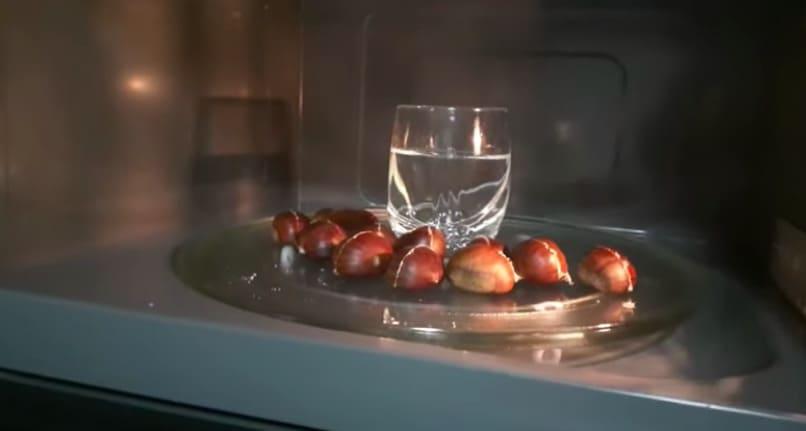 come fare le caldarroste nel microonde