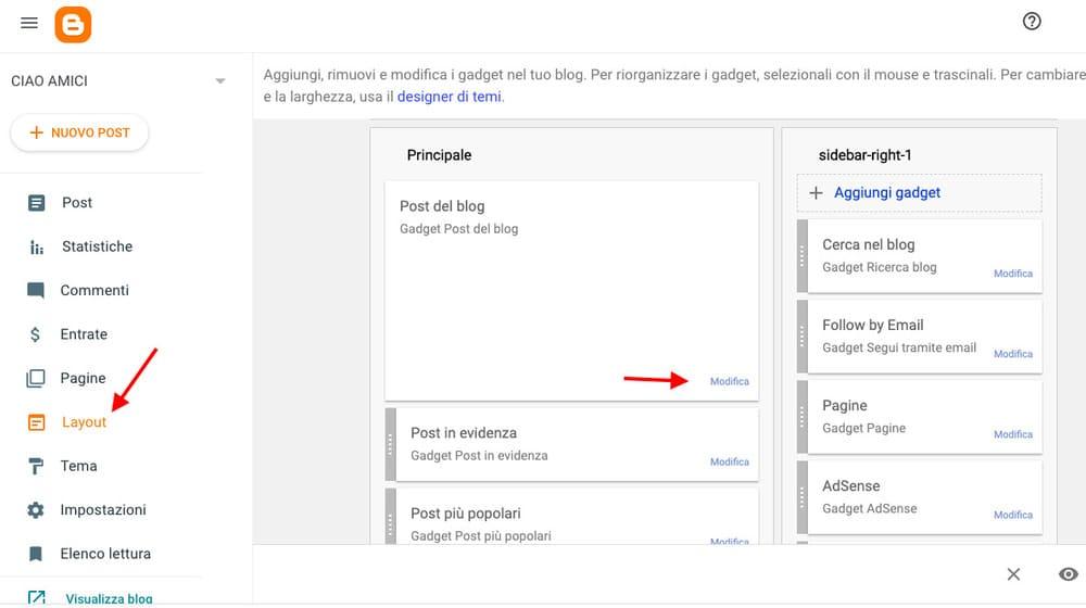 Come creare post espandibili su Blogger