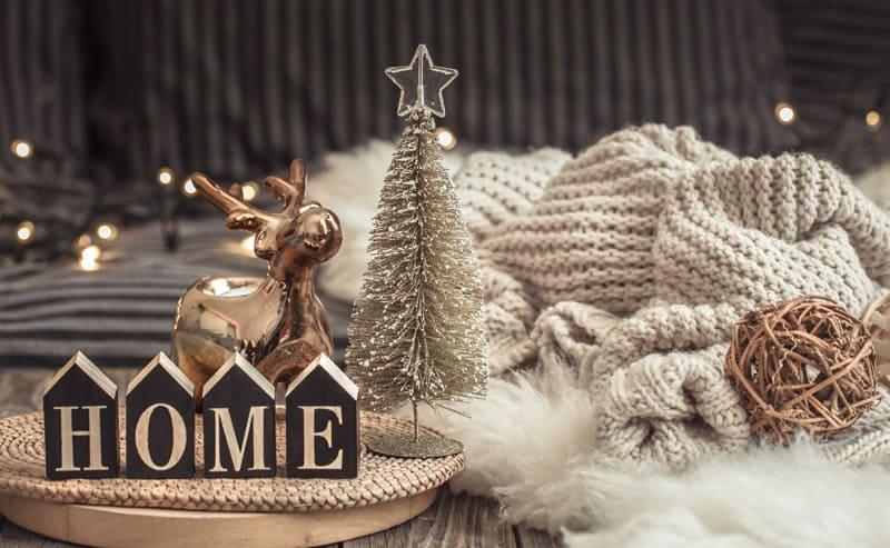 Decorazioni natalizie in stile Hygge
