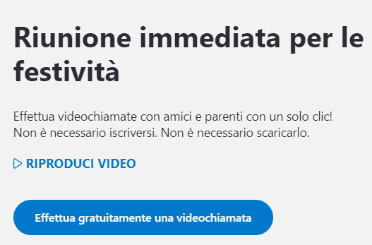 Skype registrazione