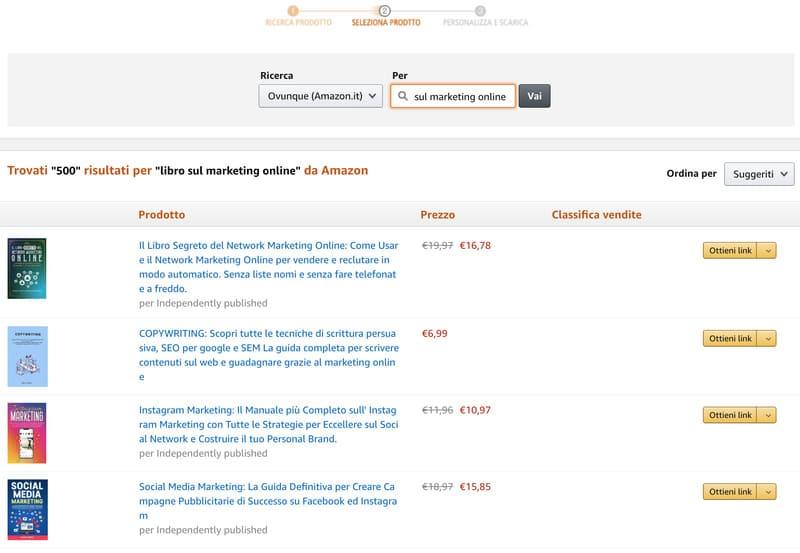 Programma Affiliazioni Amazon
