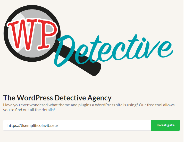 Come scoprire il tema di un sito WordPress